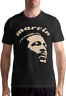 Marvin Gaye T Shirt Sports Mens Tops Short Sleeve Tee