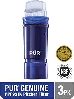 PUR PPF951K3 PPF3 Ultimate Lead Reduction Pitcher Replacement Filter 3 Pk, 3-Pack