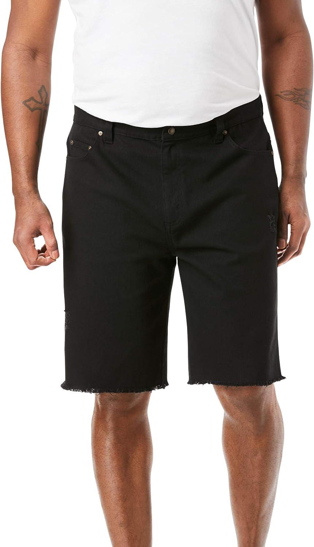 Liberty Blues Men's Big & Tall Cut-Off Denim Shorts