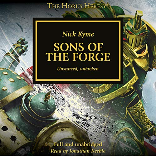 Sons of the Forge audiobook cover art