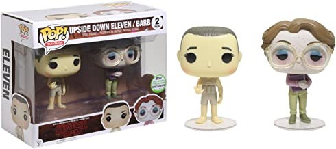 Funko Pack 2Figures POP. Stranger Things Upside Down Eleven & Barb eccc 2017Exclusive