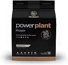 Power Plant Protein Powder by PranaOn — Great Tasting Vegan Plant Based Protein Supplement — Non Dairy, Gluten Free, Keto Friendly, Non GMO — Coconut Mylk, 15 Servings
