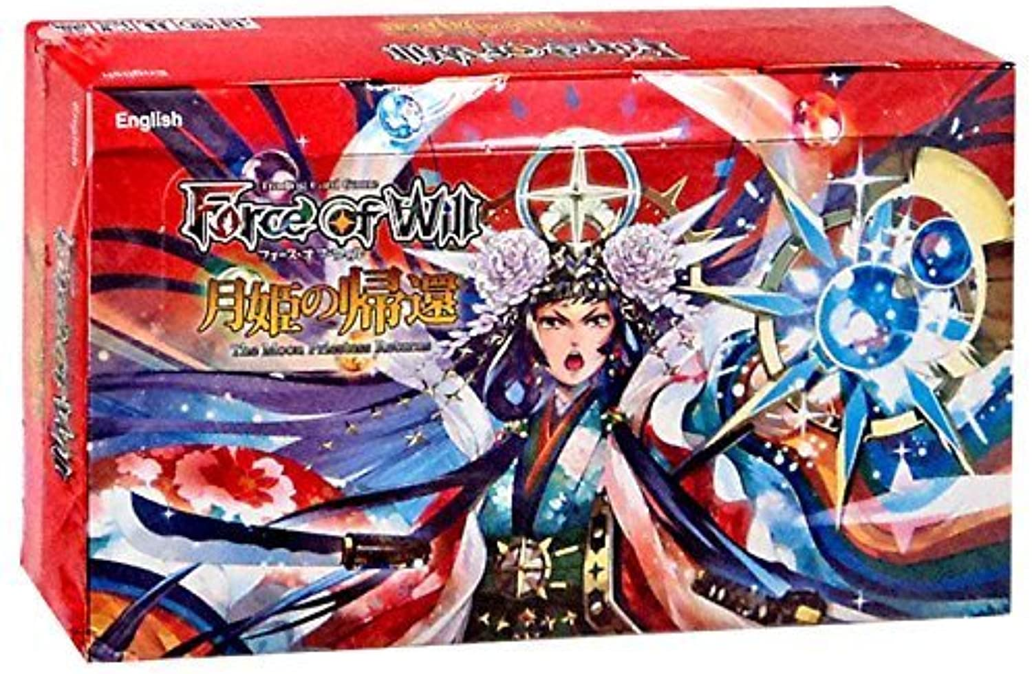 6 (Six) Packs of Force of Will TCG Sealed Booster Packs G3  The Moon Priestess Return (6 Pack Lot) by Force of Will