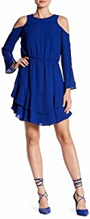 Womens Coco Cold Shoulder Blouson Casual Dress