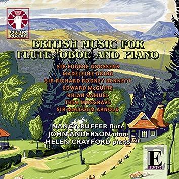 British Music for Flute, Oboe & Piano