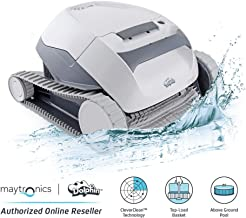 Dolphin E10 Automatic Robotic Pool Cleaner with Easy to Clean Top Load Filter Basket..