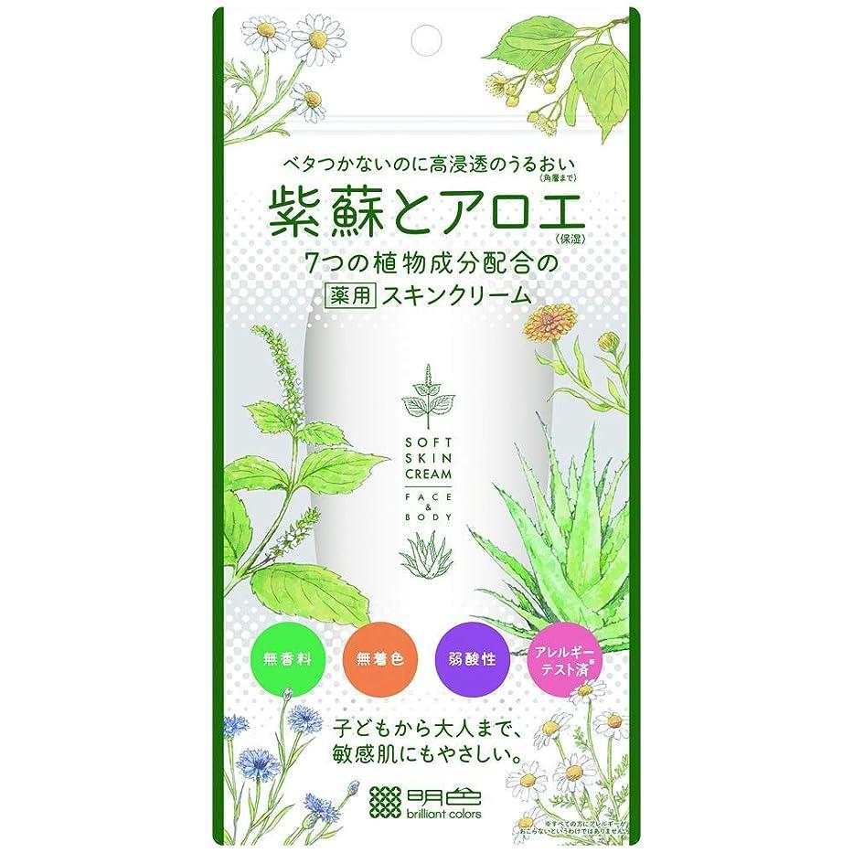プレビスサイト実行可能黒【3個セット】紫蘇とアロエ 薬用スキンクリーム 190g