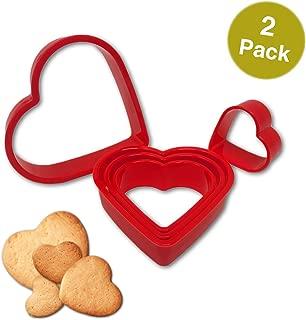 Best heart cookie cutter bulk Reviews