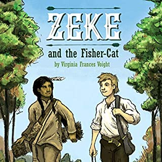Zeke and the Fisher-Cat audiobook cover art