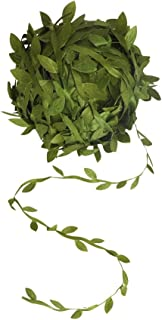 AMAZECO 132 Ft Artificial Vines Fake Hanging Plants Silk Ivy Garlands DIY Vine Simulation Flower Foliage Rattan Green Leaves Ribbon Wreath Accessory Wedding Wall Crafts Party Decor