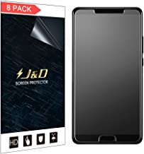 J&D Compatible for 8-Pack Huawei Mate 10 Screen Protector, [Anti-Glare] [Not Full Coverage] Matte Film Shield Screen Protector for Huawei Mate 10 Matte Screen Protector - [Not for Huawei Mate 10 Pro]