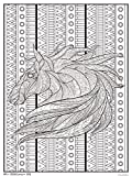 Trends International Tribal Horse 18'x 24' Coloring Poster