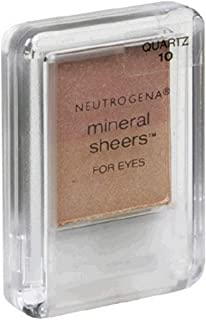 Neutrogena Mineral Sheers for Eyes, Quartz 10, 0.12 Ounce (3.4 g) (Pack of 2)