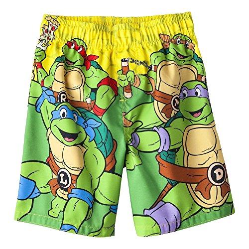 Nickelodeon Teenage Mutant Ninja Turtles Boy Swim Trunks Size 5T