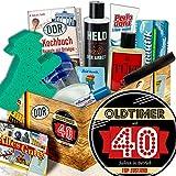 Lustige Geschenke zum 40. / Männer Pflege Geschenkset DDR / Oldtimer 40