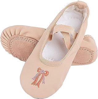 Ballet Slippers for Women Girls Canvas Split Sole Ballet Shoes Ballet Flats Yoga Dance Shoes
