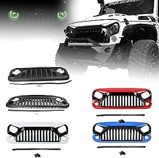 Accesorios De Dise/ñO Del Logotipo De La Parte Trasera Del Coche Tail 3d Metal 4x4 Chrome Auto Decal Sticker Insignia Del Emblema De La Parrilla Delantera para Jeep Grand Cherokee Wrangler Ford