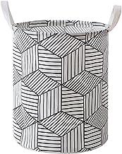 Folding Laundry Basket Round Storage Bin Bag Large Hamper Collapsible Clothes Toy Holder Bucket Organizer Large Capacity (...