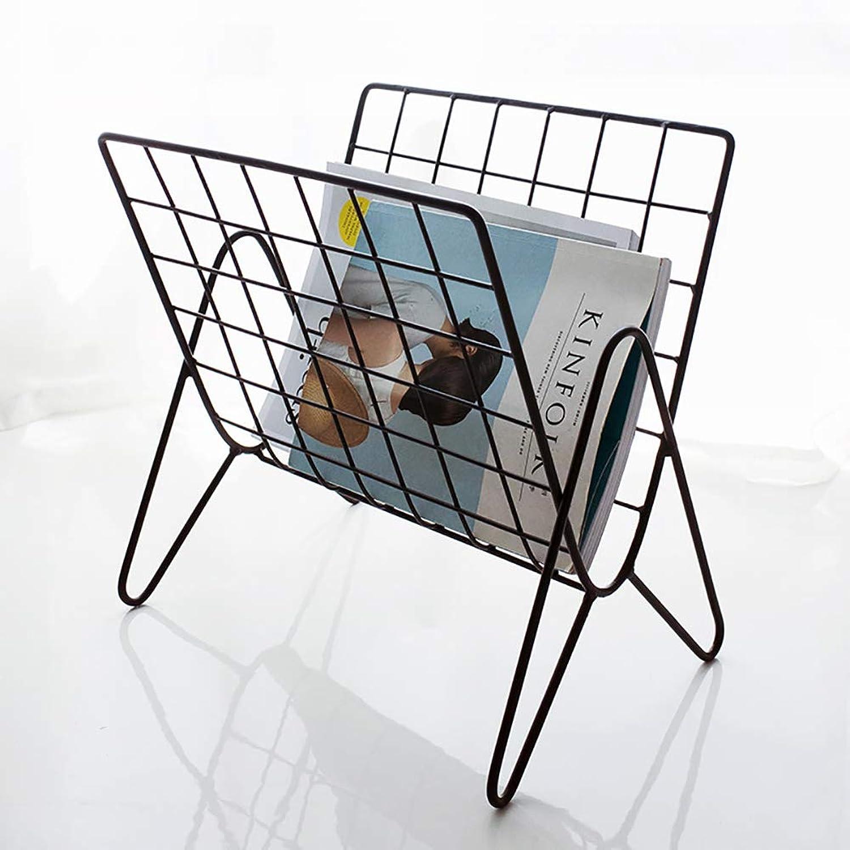 Desktop Bookcase,Small and Refined Space Saving Bookshelf Storage Organizer Shelves Simple File cabinets-Black 37x27x37cm(15x11x15)