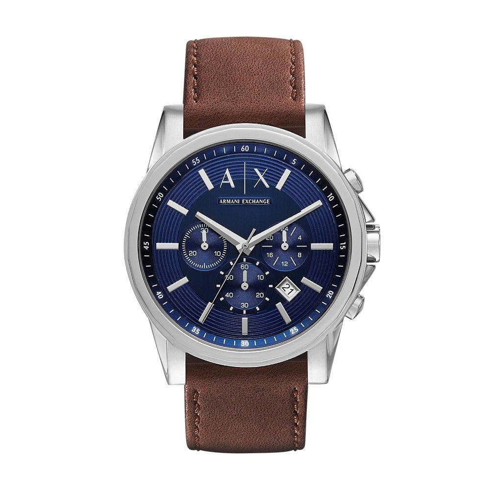 Armani Exchange Outerbanks Analog Blue Dial Men's Watch - AX2501
