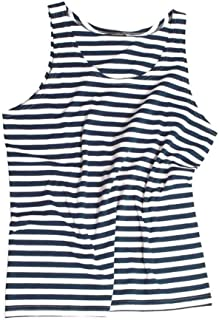 Mil-Tec Blue/White Striped Sailor Tank Top