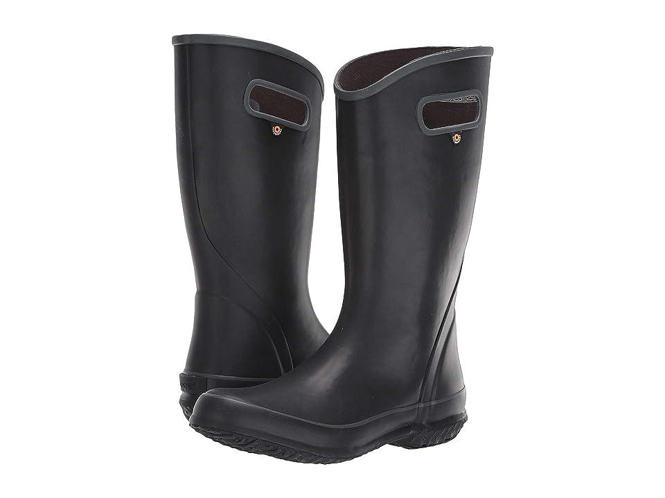 Bogs Solid Rain Boot (Black) Women