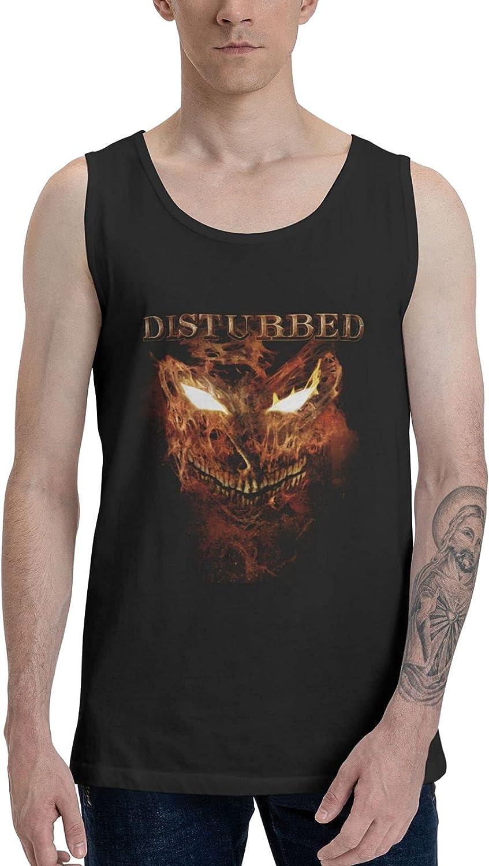 AlexBCody Disturbed Indestructible Tank Top Men Summer Sleeveless Tops Cool Vest