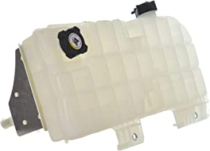 Radiator Overflow Bottle Coolant Reservoir Tank with Cap for Peterbilt & Kenworth Trucks with Cummins or Caterpillar Engine & BEHR Type HVAC System