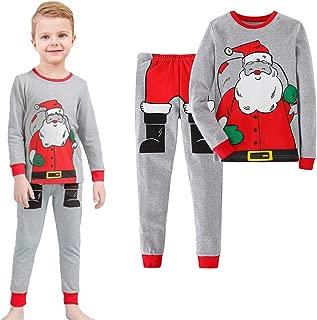 Gorboig Christmas Halloween Boys 2 Piece Pajamas Sleepwear Set Shirt&Leggings Kid Children snug Cute