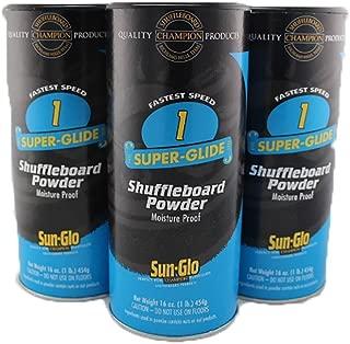 sun glo shuffleboard wax