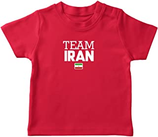 nobrand Iran World Cup T-shirt Team Pride For Kids & Mens Red