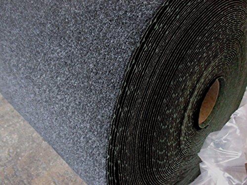 Kunstrasen (4€/m²) schwarz mit Noppen Aktion 500 x 400 cm