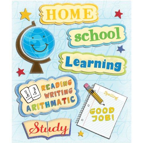 K&Company Homeschooling Sticker Medley