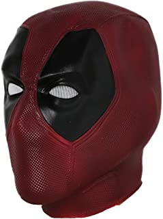 Wade Mask Helmet Movie Vesion Latex Full Head Face Mask Cosplay Props XCOSER,V4 Latex Normal size