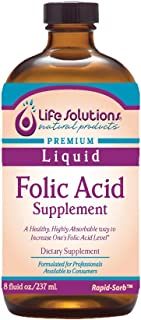 Sponsored Ad - Life Solutions, Inc. Liquid Folic Acid 8oz.- 8oomcg per serving Formulated for Professionals Available to C...