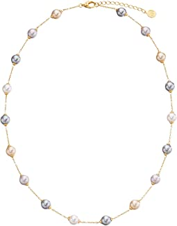 Majorica - 18/8mm Illusion Necklace