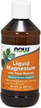 Now Supplements, Liquid Magnesium with Trace Mineral, 8-Ounce