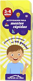APRENDO EN CASA MENTES RÁPIDAS: Actividades para mentes rápidas. 3 - 4 años: 1
