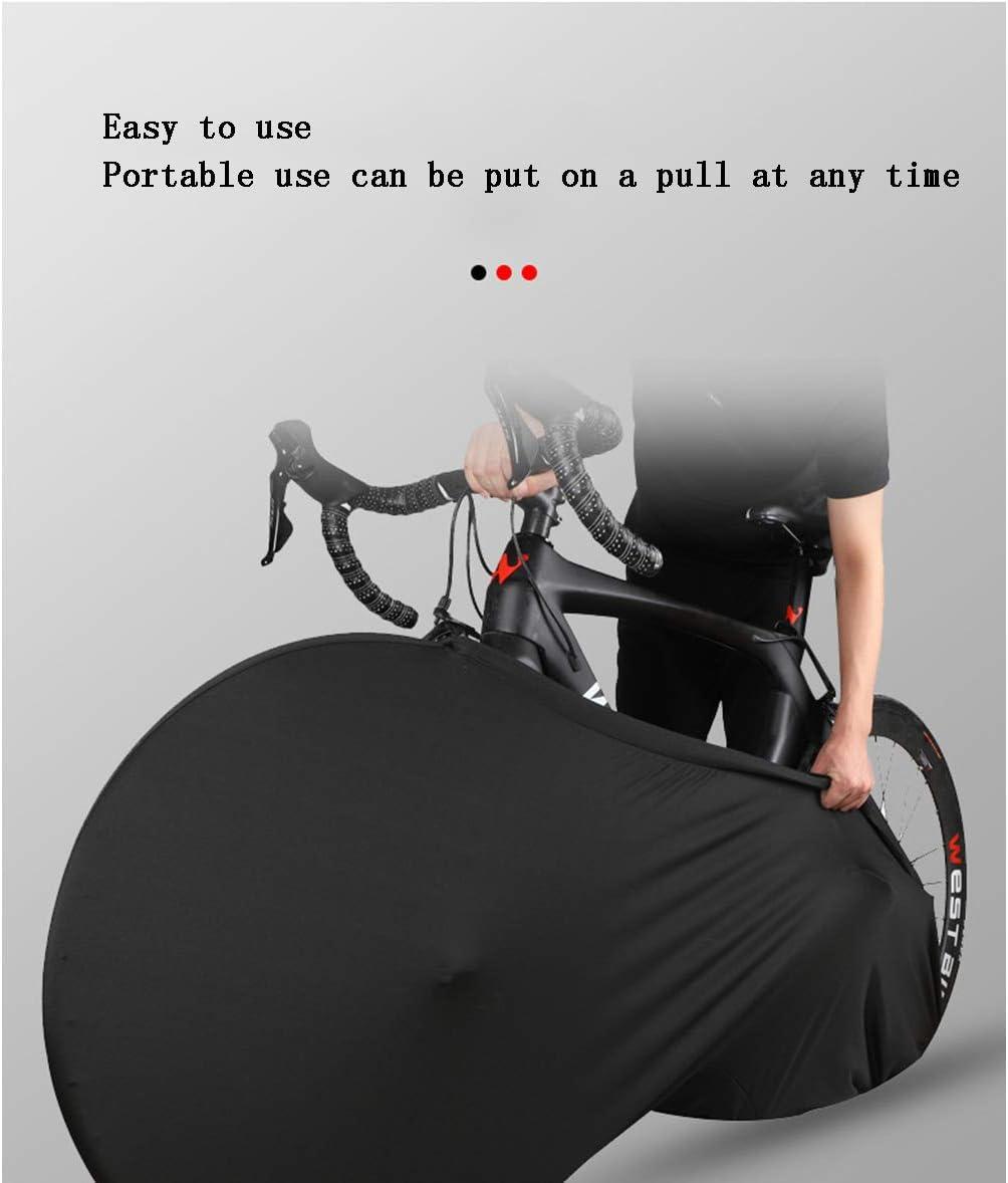 BINGFENG Housse Protection V/élo Tissu Oxford 420D V/élo Housse De Pluie A Couvercle De Rangement Int/érieur pour Bicyclette