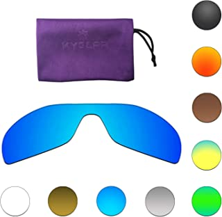 a315b07d574f Kygear Anti-fading Polarized Replacement Lenses for Oakley Antix Sunglasses