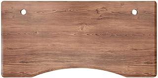 FLEXISPOT Plateau Stable de 140x70x2,5cm-Planche Incurvée DIY pour Bureau Réglable en Hauteur (Grain de Bois Brun)