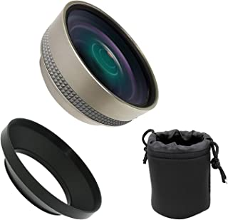 0.4X High Definition Wide Angle Conversion Lens for Canon VIXIA HF G60