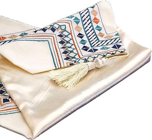 suministramos lo mejor WXIAO Elegante Rectangular Rectangular Rectangular American Table Runners Antifouling Hotel Home Kitchen Table Cloth (Tamaño   32  180cm)  bajo precio
