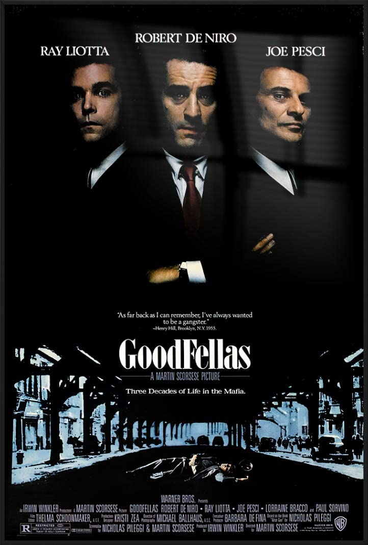 POSTER STOP ONLINE Goodfellas - Movie Regul Max 89% OFF Poster Framed Print Ranking integrated 1st place