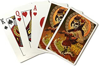 Dia De Los Muertos Marionettes - Day of The Dead (Playing Card Deck - 52 Card Poker Size with Jokers)