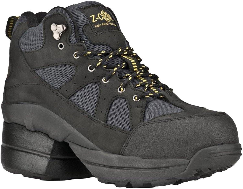 Z -CoiL Pain Relief Footwear herrar Outback Hiker Hiker Hiker Composite Toe svart stövlar  spännande kampanjer