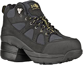 Z-CoiL Pain Relief Footwear Men's Outback Hiker Composite Toe Black Boots