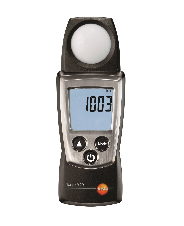 Testo 0560 0540 Metros Luz Útil, Incluyendo Tapa Protectora, Protocolo de Calibración