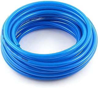 Aodesy Pneumatic Hose Polyurethane PU Air Hose Pipe Tube Blue 10 Meter/32.8ft 8mm OD 5mm ID