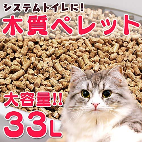 猫砂 木質ペレット 33L 20kg